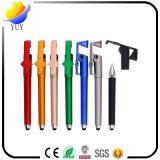 スタイラスが付いている特別なプラスチックペンの携帯電話のホールダーはQrcodeを印刷できる