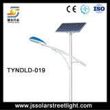 100W 10m hecho en luz de calle solar de China