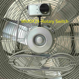 Grande ventilador do cilindro para o projeto ao ar livre com o ventilador da velocidade elevada da bruma 24 polegadas