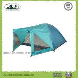 Person 4 2 Schicht-kampierendes Zelt mit Wohnzimmer