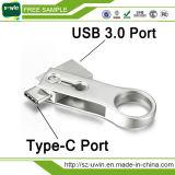 Nuovo Tipo-c 3.1 bastone dell'azionamento dell'istantaneo del USB di arrivo 2016 di memoria ad alta velocità del disco del USB di OTG per la vendita calda del ridurre in pani del calcolatore del PC di Smartphone