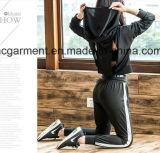Terno rapidamente seco dos esportes para mulheres/senhora, roupa da ioga, desgaste de funcionamento