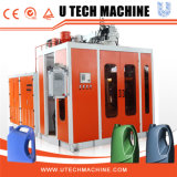 máquina de molde do sopro da extrusão do HDPE da estação do dobro do frasco 1-5L