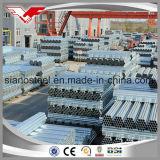 Padrão soldado ERW de aço galvanizado da tubulação ASTM A53/BS1387/En10255 da tubulação dos fabricantes galvanizados China da tubulação de aço