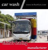 Machine de lavage de camion de renversement de 3 balais de l'Italie avec le contrôle d'écran tactile