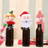 Подарок держателя бутылки вина снеговика Санта, украшение Asst-Рождества 2