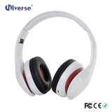 Receptor de cabeza estéreo de Bluetooth de los auriculares sin hilos de moda coloridos para la música que escucha