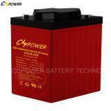 Tiefe Schleife-Solargel-Batterie 6V200ah, Htl6V-200ah