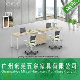 Nuevos muebles del &Home de la oficina del vector del ordenador del estilo con la cabina lateral