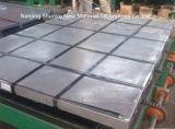 Placa de acero galvanizada con alta calidad