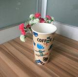 Tazas de papel de las tapas a solas para la consumición caliente