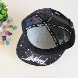 多彩な5つのパネルのParintedの急な回復の帽子および帽子の製造業者
