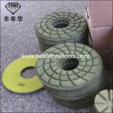 """Diamant-konkreter Fußboden-Polierauflage (7 """" /180mm)"""