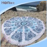円形のビーチタオル