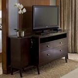 Jogo de cinco estrelas da mobília do quarto do hotel da pensão de madeira de Hampton