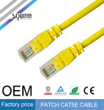 Sipu venta al por mayor UTP Fluke Cat 5e Patch Cable de cobre para la computadora