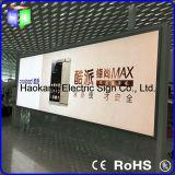LED-im Freien Aluminiumprofil-großer Rahmen-heller Kasten für das Bekanntmachen des Schildes