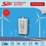 Het Gel van de Batterij 2V200ah van Opzv voor ZonneElektrische centrale