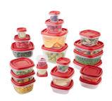 I contenitori di memoria dell'alimento con i coperchi BPA liberano, riutilizzabile, Microwavable