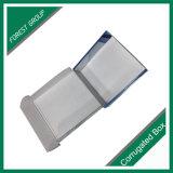 Rectángulo de envío de empaquetado acanalado superior de la imagen doble por la lámina delantera