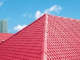 Folha vitrificada PVC colorida do telhado da extrusora do preço do competidor que faz a máquina