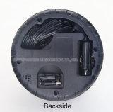 Mini pompa di aria portatile dell'automobile 12V con figura della gomma