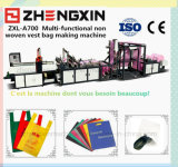 Prevalecer saco de compra não tecido da forma que faz a máquina fixar o preço (ZXL-A700)