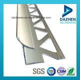 Profil d'extrusion de l'aluminium 6063 pour couleurs personnalisées de garniture de tuile de diverses