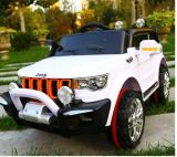 Giro della jeep di potenza della batteria sul giocattolo della plastica dei bambini dell'automobile