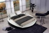 Base enorme de couro moderna de jogador de música para a mobília do quarto (HC307)