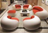 Modernes einfaches kreatives Freizeit-Wohnzimmer-Leder-Sofa