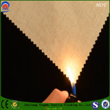 Tissu ignifuge de polyester d'arrêt total pour l'usage à la maison de tissu de rideau en textile