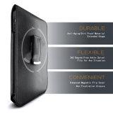 para la caja protectora de cuero de la PU de Samsung S7 con el clip de la correa de la pistolera