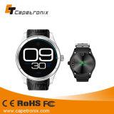 2016 Qualitäts-GroßhandelsK23 intelligente Uhr, runder Bildschirm-intelligente Uhr mit hoher Bildschirmanzeige der Auflösung-400X400