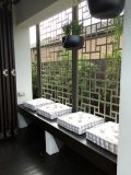 Écrans en aluminium de diviseur de pièce de partition de mur de gravure avec l'enduit de poudre