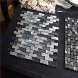 多彩なストリップの形のモザイク、モザイク・ガラス、ガラスモザイク・タイル