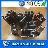 Het Profiel van het Aluminium van het Aluminium van het Venster van de schuifdeur met de Deklaag van het Poeder