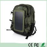 sac solaire de sac à dos de chargeur de sac à dos solaire extérieur de vert d'armée de 35L 6.5W avec le panneau solaire amovible pour des dispositifs téléphones cellulaires/5V (SB-168)