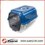 Portable Transport Box Plastic Flight Cage Pet Air Transport