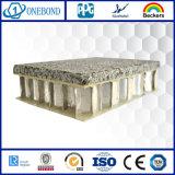 軽量の石造りのパネルの正面のクラッディング
