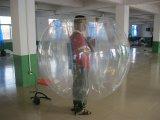 bola inflable de la burbuja de la mejor calidad del 1.5m para el juego del deporte