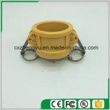 Accoppiamenti di plastica/rapidamente del Camlock accoppiamenti (Tipo-CC), colore giallo