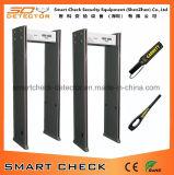 Bonne promenade des prix par zone du détecteur de métaux de cadre de porte de détecteur de métaux 6