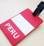 Hight Quality PVC Name Tag for Travel Advertizing Luggage Tag (YB - HD - 28)