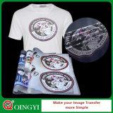 Sticker van de Overdracht van de Hitte van de Was van Qingyi de Goede voor T-shirt