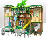 Спортивная площадка джунглей безопасности занятности Cheer опирающийся на определённую тему крытая для малышей