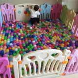 2017人の子供のゲームのパネル(HBS17073A)が付いているプラスチック演劇の塀