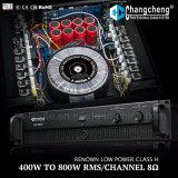 Amplificador de potencia profesional de la serie de Nx/Rx