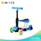Новая конструкция 3 в 1 самокате пинком колеса малышей Scooter/3
