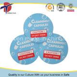 Tapas de la buena calidad y del papel de aluminio del precio competitivo para la cápsula de la limpieza